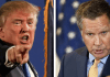 Donald Trump and John Kasich