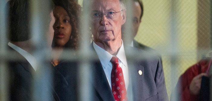 Robert Bentley at jail