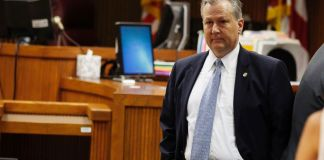 Mike Hubbard stands trial day one