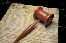 court gavel US Constitution