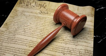 court gavel US Constitution