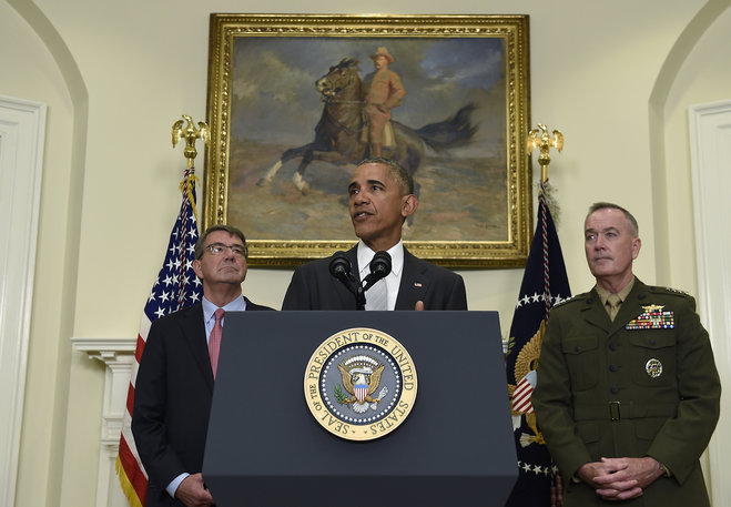 Barack Obama and joint chiefs