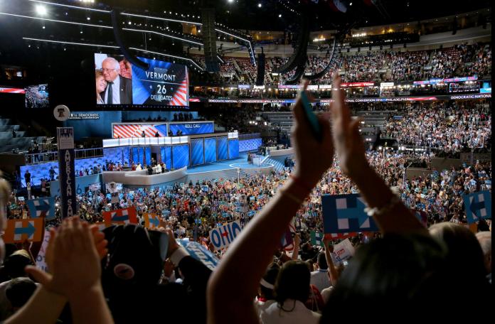 DNC 2016_Bernie Sanders