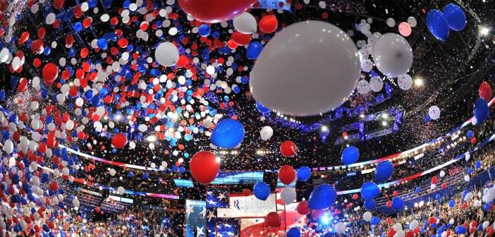 DNC 2016 balloons