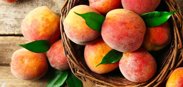 fruit_basket of peaches