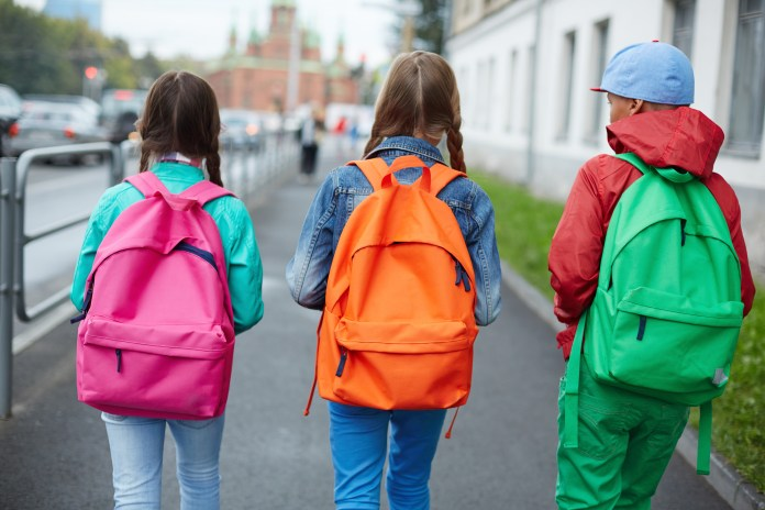 school kids bookbags