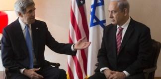 John Kerry and Netanyahu