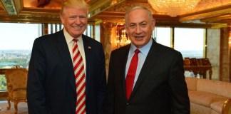 Netanyahu and Donald Trump