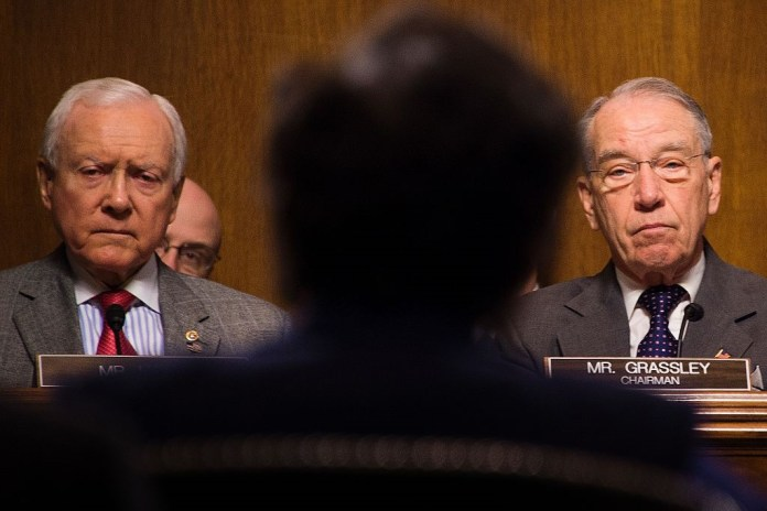 Senate Judiciary Committee Chuck Grassley