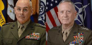 John Kelly and James Mad Dog Mattis