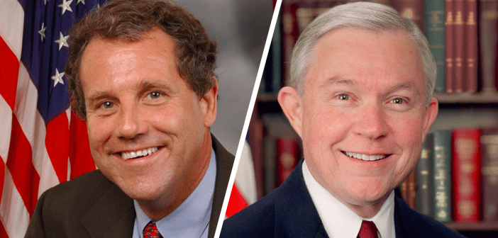 Sherrod Brown and Jeff Sessions