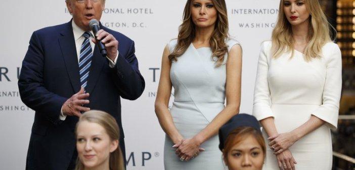 Trump family Donald Melania Ivanka