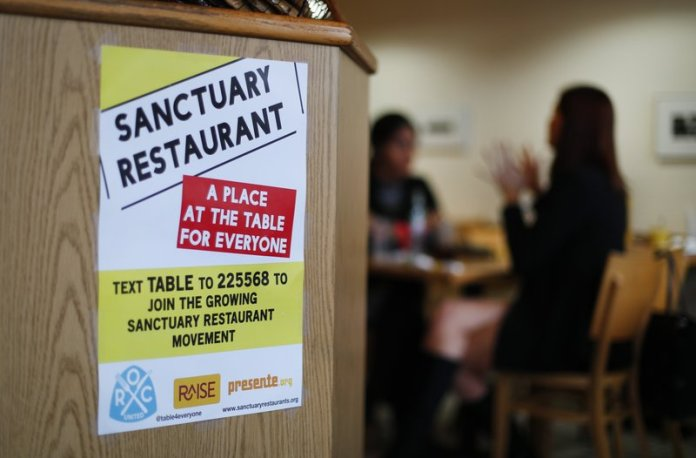 sanctuary restaurant