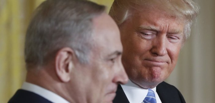 Donald Trump and Netanyahu