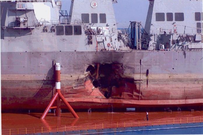 USS Cole bombed
