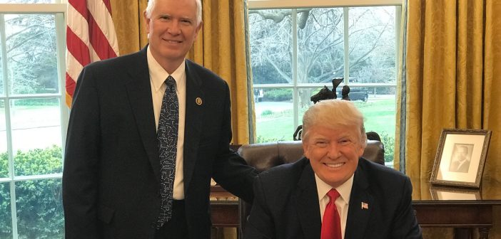 Mo Brooks and Donald Trump