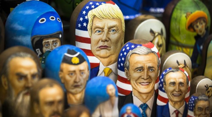 Trump Russian nesting dolls