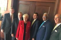 Big 5 Mayors with Gov Kay Ivey