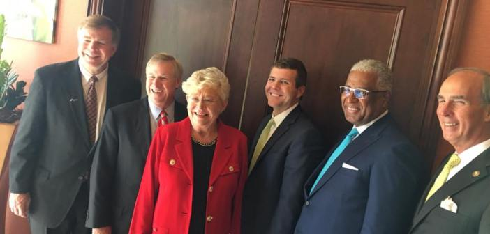 Big 5 Mayors with Gov Kay Ivey