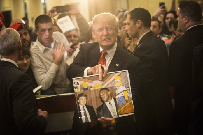Donald Trump Simpsons