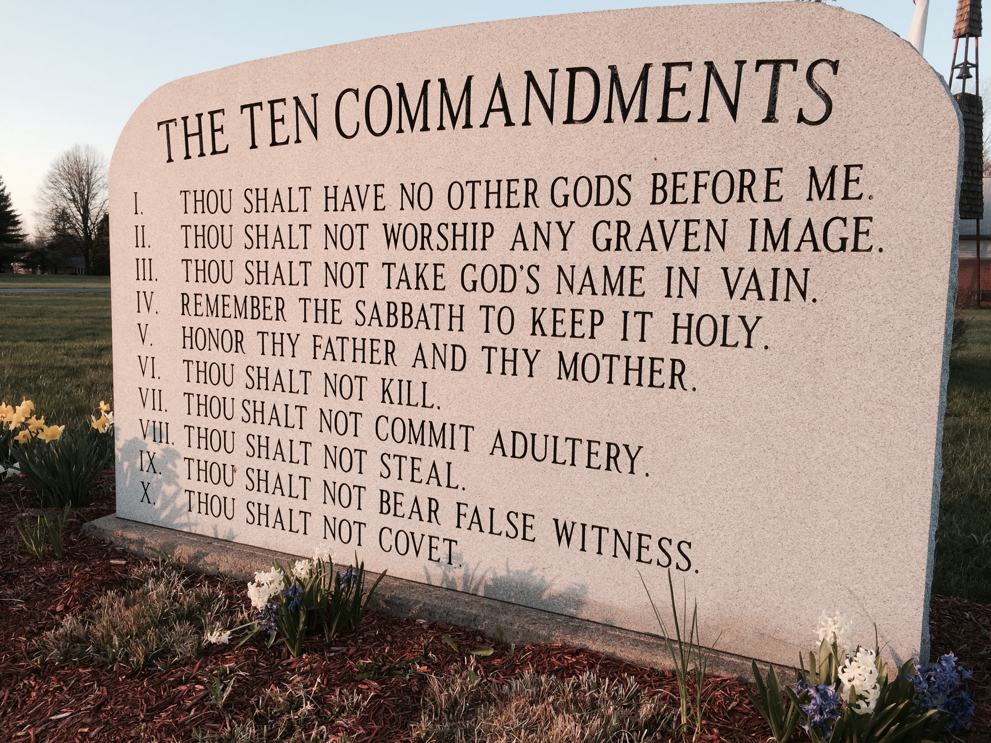 Ala Senate Approves Ten Commandments Display Bill