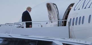 Donald Trump Air Force One