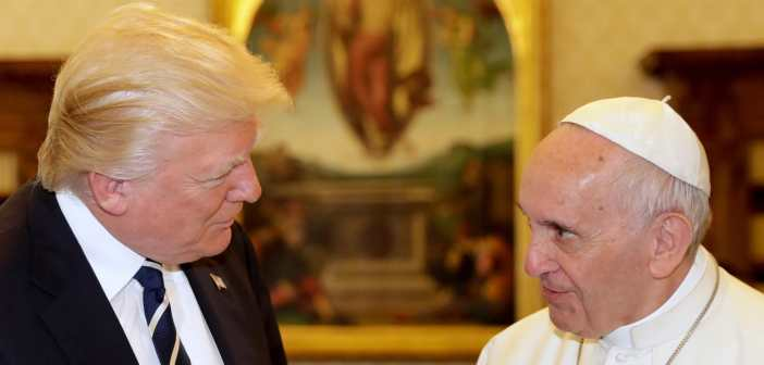 Donald Trump and Pope