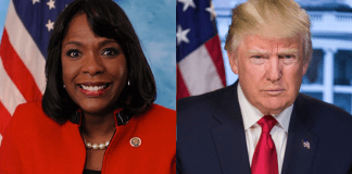 Terri Sewell and Donald Trump