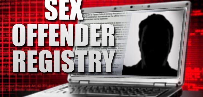 sex offender registry