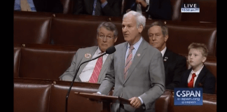Bradley Byrne on House floor