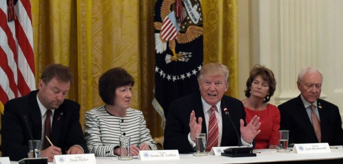 Trump and Senators