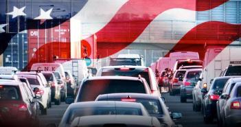 Labor Day weekend traffic