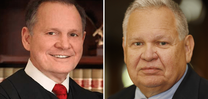 Roy Moore and Jim Zeigler