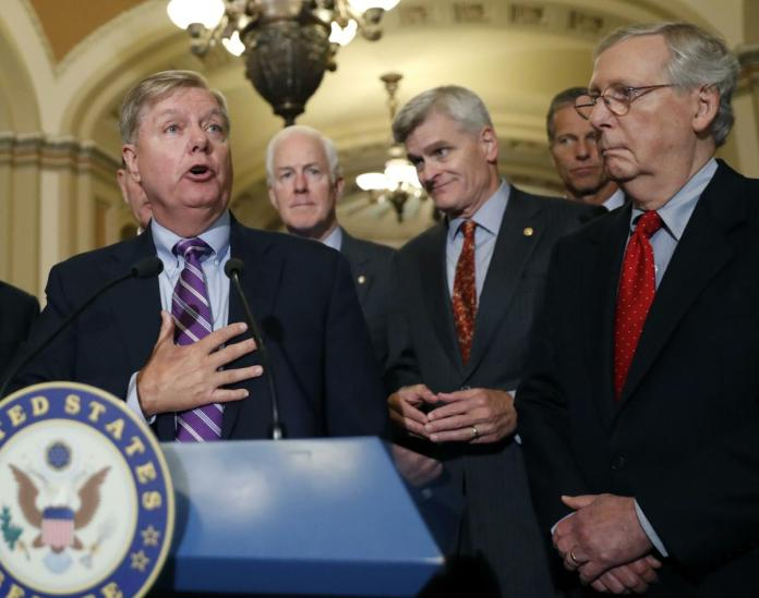 Lindsey Graham and senators