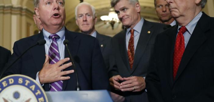 Lindsey Graham and senators
