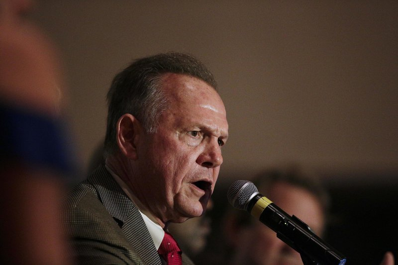 Roy Moore announces corruption complaint during Monday press conference
