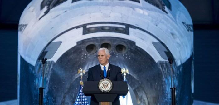Mike Pence NASA