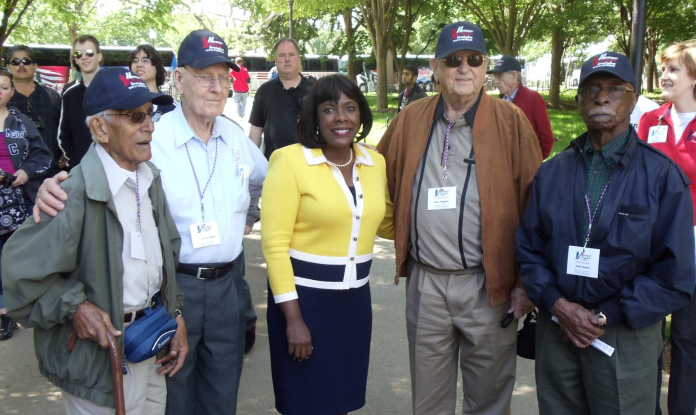 Sewell and veterans