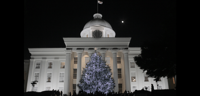 Alabama Capitol Christmas Tree 2017