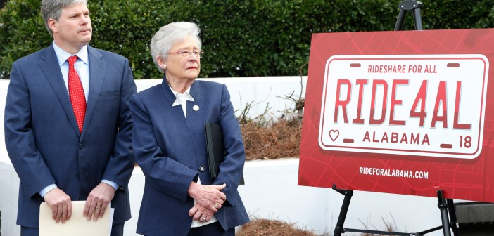 David Faulkner and Kay Ivey_Rideshare