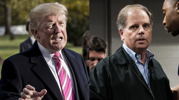 Donald Trump_Doug Jones
