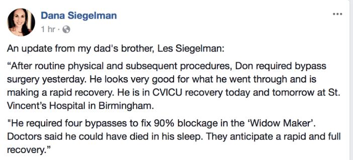 Don Siegelman update