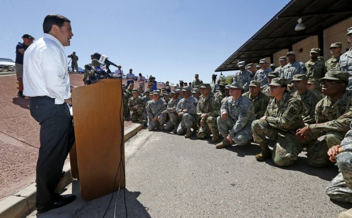 National Guard - border