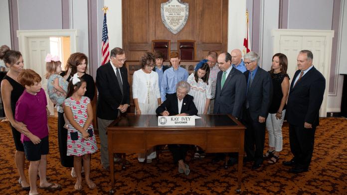 Kay Ivey bill signing