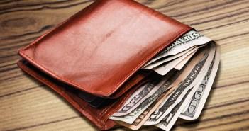 money in wallet