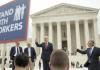labor unions outside of SCOTUS