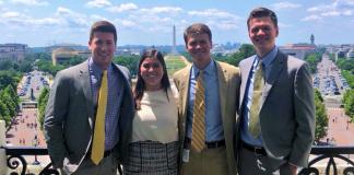 Byrne interns 2018