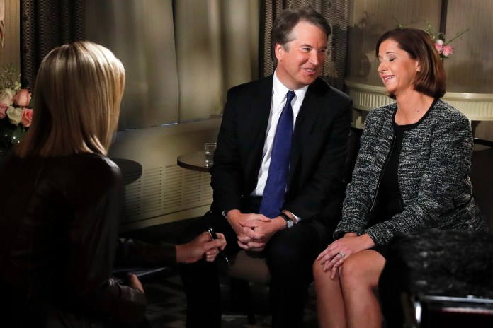 Brett Kavanaugh, Ashley Kavanaugh, Martha MacCallum