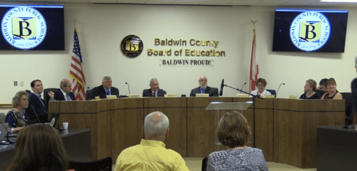 Baldwin County School Board Meeting