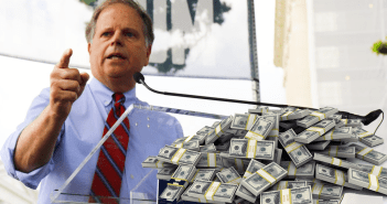 Doug Jones money